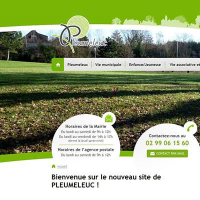 «Internet est aujourd'hui un moyen de communication incontournable», Patricia Cousin, maire de Pleumeleuc