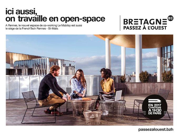open space passez à l'ouest