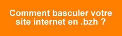 Basculez votre site internet en .bzh