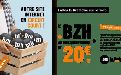 Votre nom en .bzh pour 20 € jusqu'au 30 septembre ! 🙂
