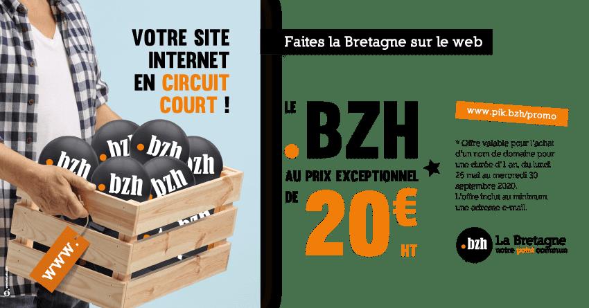 promo bzh 20€ 2020