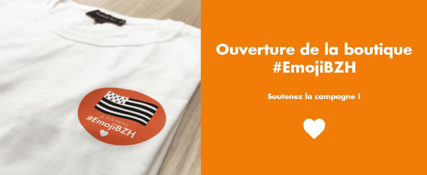 boutique #emojibzh emoji drapeau breton