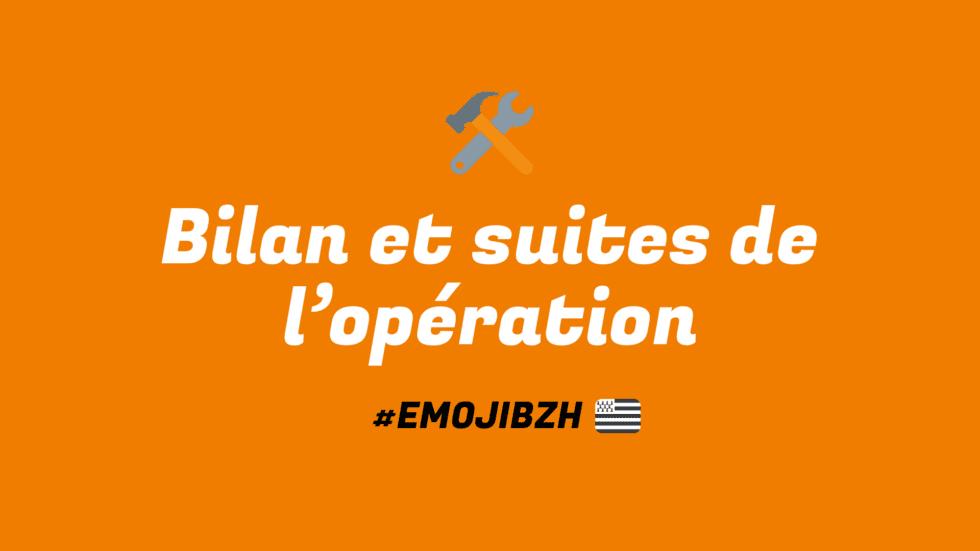Opération #emojibzh – Le combat continue !